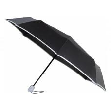 Зонт автомат. Economix HANDY, 8 спиц, цвет: черно-серый (E98404-16)