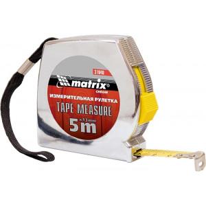 Рулетка 5 м х 13 мм MTX Chrom (310409)