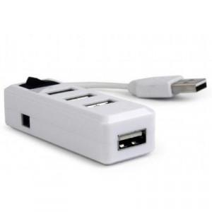 Концентратор USB 2.0 Gembird UHB-U2P4-21 (на 4 порта)