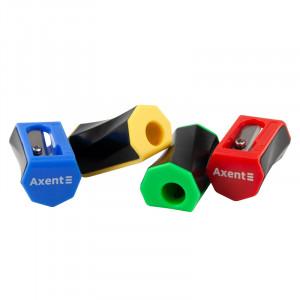 Точилка пластиковая одинарная Axent Flex (1161-A)