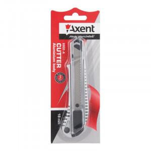 Нож канцелярский большой Axent 18 мм металлический (6902-A)