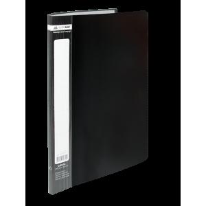 Папка с файлами 10 ф (А4) Buromax JOBMAX черный (BM.3600-01)