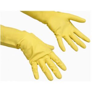 Перчатки латексные L-9 АВТОДЕН (желтые прозрачная упаковка)
