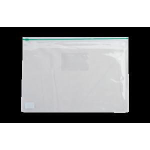 Папка на молнии Zip-Lock пластик (А4) Buromax (зеленая) (BM.3946-04)