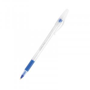 Ручка шариковая одноразовая 0,7 мм синяя Axent Delta DB2054 (db2054-02)