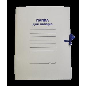 Папка на завязках клееный клапан картон (А4) 0,35 мм Buromax  (BM.3356)