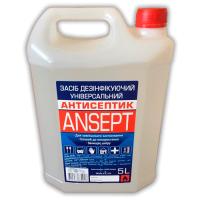 Средство для дезинфекции рук и инструментов 5000 мл ANSEPT (этиловый спирт 75%)