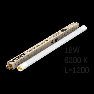 Лампа LED VIDEX 18W 1.2M 6200K 220V матовая VIDEX (VL-T8b-18126)