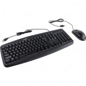 Комплект (мышь+клавиатура) Genius Smart KM-200 Black Ukr (31330003410)