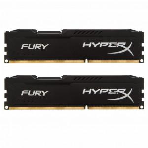 Модуль памяти для компьютера DDR3 16GB (2x8GB) 1600MHz HyperX Fury Black Kingston (HX316C10FBK2/16)