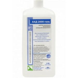 Средство для дезинфекции рук и инструментов 1000 мл АХД 2000 (гелевый) с дозатором спирт 75% (БЕЗ НДС)