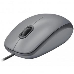 Мышь Logitech M110 Silent Gray (910-005490)