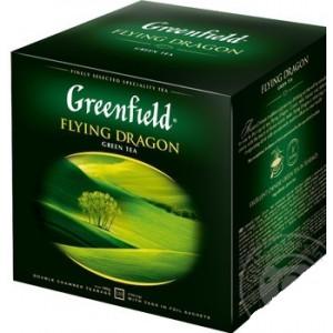 Чай зеленый в ф/п Greenfield Flying Dragon, 120 пак