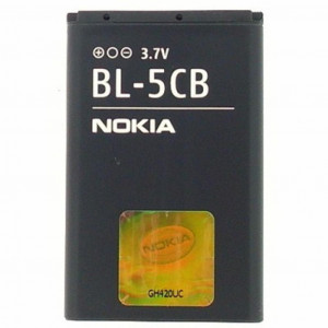 Аккумулятор для телефона Nokia for BL-5CB (BL-5CB / 21443)