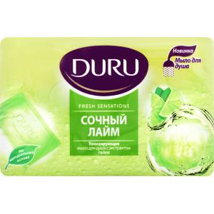 Мыло туалетное 150 гр Duru Fresh Sensations (Сочный лайм)