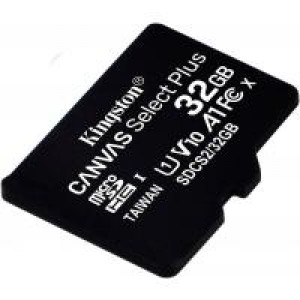 Карта памяти Kingston 32GB microSDHC class 10 UHS-I A1 (R-100MB/s) Canvas (SDCS2/32GBSP)