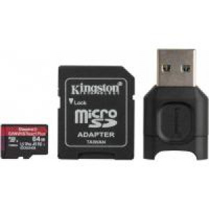 Карта памяти Kingston 64GB microSDXC class 10 Canvas React+ (MLPMR2/64GB)