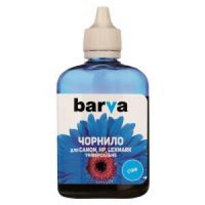 Чернила BARVA CANON/HP/Lexmark Universal №4 CYAN 90г (CU4-472)