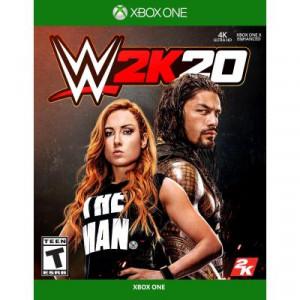 Игра Xbox WWE 2K20 [ Russian subtitles] (5026555361262)
