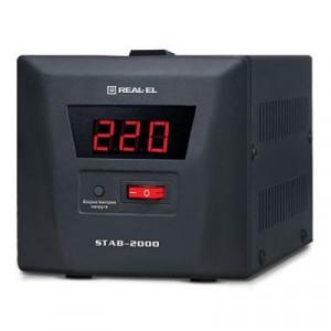 Стабилизатор напряжения реллейный REAL-EL STAB-2000 (EL122400009)