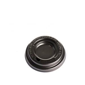 Крышка для бумажного стакана 250 мл 50 шт/уп коричневая (D80)