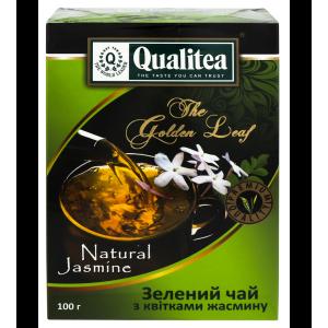 Чай зеленый Qualitea (с жасмином), 100 гр