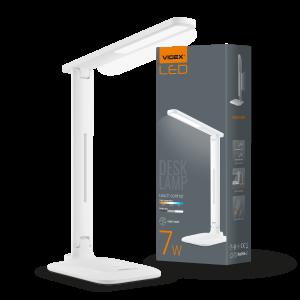 Светильник настольный LED, 7W, 3000-5500K, 220V, VIDEX (VL-TF02W)
