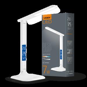 Светильник настольный LED, 7W, 3000-5500K, 220V, VIDEX (VL-TF05W)