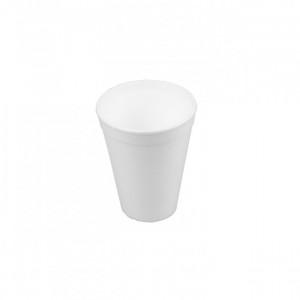 Стакан однораз (вспененный) 250 мл 25 шт/уп (для горячих напитков)