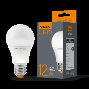 Лампа LED VIDEX 12W E27 4100K 220V (VL-A60e-12274)