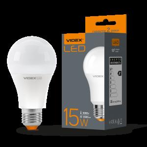 Лампа LED VIDEX 15W E27 3000K 220V (VL-A65e-15273)