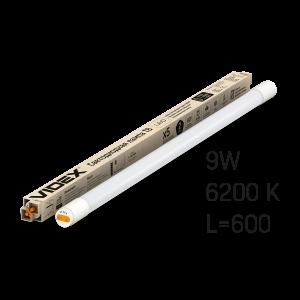 Лампа LED VIDEX 9W 0.6M 6200K 220V матовая VIDEX (VL-T8b-09066)