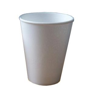 Стакан однораз (вспененный) 200 мл 40 шт/уп (для горячих напитков) (Польша)