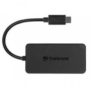 Концентратор Transcend 4-Port USB 3.1 Type-C Black (TS-HUB2C)