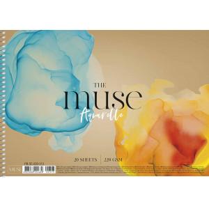 Альбом для акварели А4 20 л, картон MUSE ШКОЛЯРИК (PB-SC-020-313)