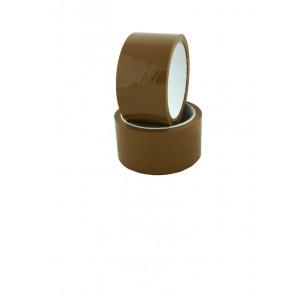 Скотч упаковочный 48 мм х 200 м 40 мкм ПРОФИПАК (коричневый) (Украина)