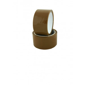 Скотч упаковочный 48 мм х 100 м 40 мкм ПРОФИПАК (коричневый) (Украина)