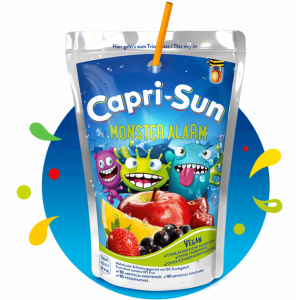 Сок капризон Capri-Sun Monster Alert 200мл х 10 шт