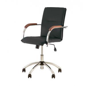 Кресло Samba GTP Tilt CHR10 черное (V-14 1.031)