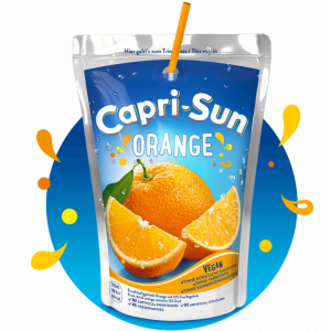 Сок капризон Capri-Sun Orange 200мл х 10 шт