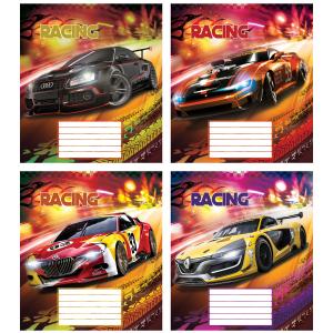Тетрадь в клетку 12 л, Racing (Без НДС) (ТА5.1211.3180к)