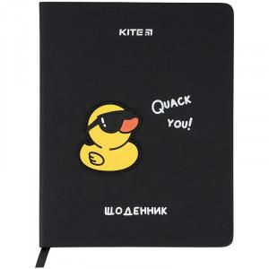 Дневник школьный Kite Duck K21-264-1, твердая обложка, PU