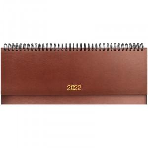 Планинг датированный 2022 Brunnen Miradur, коричневый (73-776 60 702)