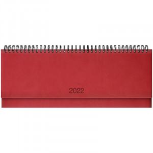 Планинг датированный 2022 Brunnen Torino, красный (73-776 38 202)