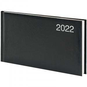 Еженедельник датированный 2022 153 х 870 мм Brunnen Miradur карманный чорний (73-755 60 902)