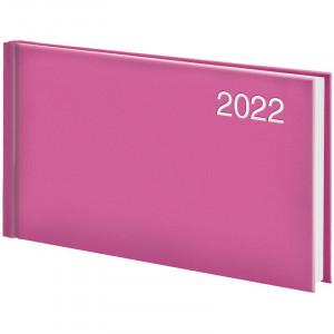 Еженедельник датированный 2022 153 х 870 мм Brunnen Miradur карманный розовый (73-755 60 222)