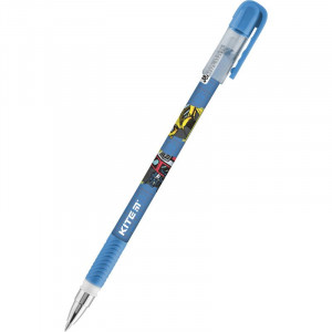 Ручка гелевая KITE Transformers (пиши-стирай), 0,5 мм, синяя (TF21-068)