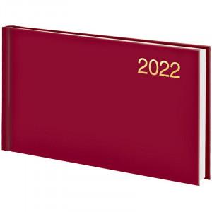 Еженедельник датированный 2022 153 х 870 мм Brunnen Miradur Trend карманный красный (73-755 64 202)