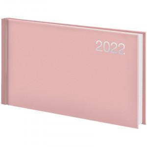 Еженедельник датированный 2022 153 х 870 мм Brunnen Miradur Trend карманный пудровый (73-755 64 452)