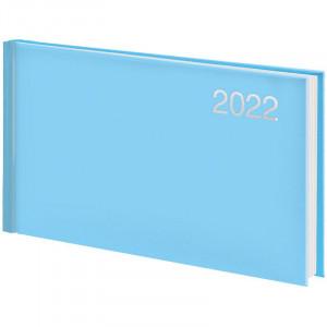 Еженедельник датированный 2022 153 х 870 мм Brunnen Miradur Trend карманный голубой (73-755 64 332)